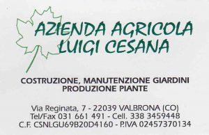 azienda agricola cesana fronte